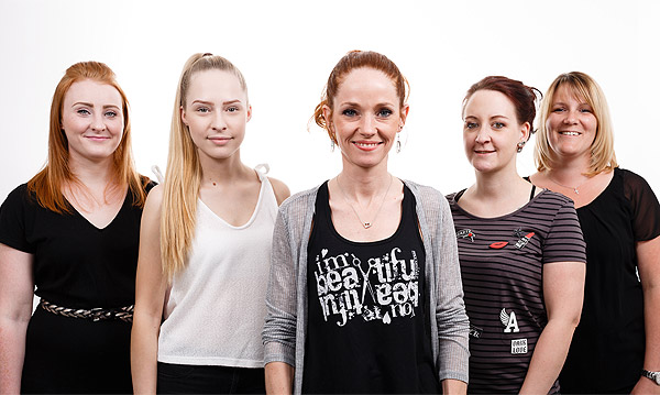 Tanja-Jakobs-Friseure-Wegberg-Team
